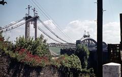 albert bridge 1962 (foundin_a_attic) Tags: 1960s saltash royalalbertbridge brunel