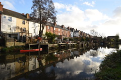 River Kennet - 2, Reading (rq uk) Tags: rquk nikon d750 reflections clouds reading readingriverkennet nikond750 afsnikkor1835mmf3545ged