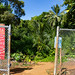 Entrance of Queen's Bath pool Princeville Kauai Hawaii