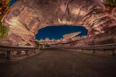 Cars Land Tunnel Disneyland (jimisPHOTOS) Tags: disney disneyland cars california anaheim travel themepark themeparks night ride family wideangle
