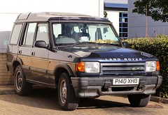 P140 XHO (Nivek.Old.Gold) Tags: 1997 land rover discovery tdi 5door 2495cc minden