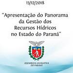 Apresentação do Panorama da Gestão dos Recursos Hídricos no Estado do Paraná