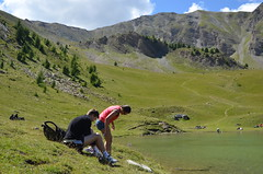 Lac de Sainte-Marguerite (RarOiseau) Tags: montagne lac gr été hautesalpes lesorres lacdesaintemarguerite vert green lake summer mountain