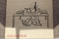 Gulzigheid (just.Luc) Tags: gulzigheid gluttony joostswarte urbanart streetart graffiti grafitti wall muur mur mauer word woord mot letters lettres drawing tekening dessin belgië belgien belgique belgium belgica antwerpen anvers antwerp antverpenas antuérpia amberes vlaanderen flandres flanders art kunst public publiek