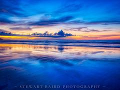 No Complication (stewartbaird) Tags: nature beach landscape sunset clouds summer sundown sky seascape kapiti paekakariki newzealand sea