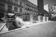 (heinrichj) Tags: waste wasteland wastetales trash trashcan rubbish monochrome bw fujifilm fujix fujinon fuji xf1024 xf1024mm xe2 europe portugal lisboa lisbon
