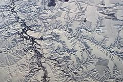 Water Works DSC_2571 (JKIESECKER) Tags: landscapes rivers river viewfromabove airplane airlineflights erosion water waterways