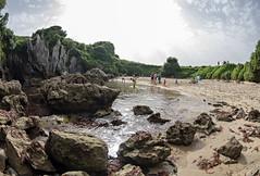 Gulpiyuri Beach 6 (Nino Olivieri) Tags: españa playadegulpiyuri asturias spagna asturie spiaggiadigulpiyuri spain gulpiyuribeach acqua mare water sea