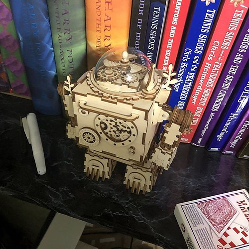 My #build of the @robotime.wooden.toys #music-box