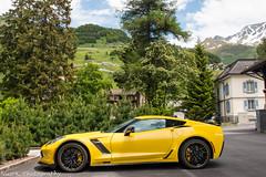 Corvette C7 Z06 R Edition (Nico K. Photography) Tags: chevrolet corvette c7 z06 r edition rare supercars yellow nicokphotography switzerland andermatt