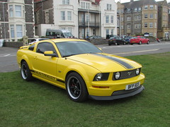 Ford Mustang GT BFP503 (Andrew 2.8i) Tags: show classic cars car mare super weston classics westonsupermare american muscle pony sports sportscar coupe fifth5thgeneration gt mustang ford