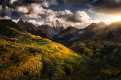 •Mordor• (jsnowphotography) Tags: sunset landscape nikon joshuasnow workshop aspen aspens fall autumn rockies capitalpeak mountains colorado