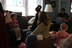 Christmas Day 2017 (Mike and Sarah Hays) Tags: nora lillie tom
