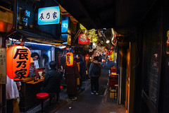 Shinjuku Food Alley (kha.p.nguyen1007) Tags: shinjuku tokyo japan nippon omoide yokocho food alley alleyway clean night nightshot people landmark stall alcohol party cheap nishishinjuku walking neon light yakitori lantern winter