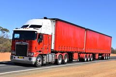 Kenworth K104B (Scottyb28) Tags: kenworth aerodyne australia trucks truck trucking highway haulage diesel loaded cobar outback