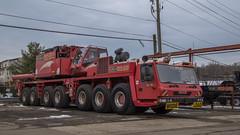 Grove GMK 7550 (NoVa Truck & Transport Photos) Tags: grove gmk 7550 mobile crane construction wo grubb rental alexandria va