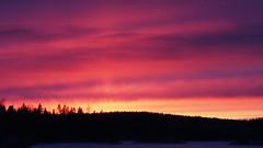Tammikuu II (Jorma_M) Tags: sunset auringonlasku