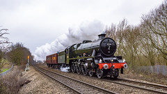 Purring (4486Merlin) Tags: 45596 bahamas england europe exlms lms6p5fjubilee railways steam transport unitedkingdom westyorkshire countries places wakefield gbr