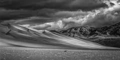 Death Valley Winter Light (Jeff Sullivan (www.JeffSullivanPhotography.com)) Tags: death valley national park sand desert usa landscape nature canon 5dmarkiii road trip photo copyright 2012 jeff sullivan allrightsreserved december dunes black white silver efex winter light