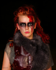 Swordcraft night shot (tony_redink2000) Tags: swordcraft cosplay warhammer costume makeup portrait melbourne australia goth viking art tonydelovphotoart