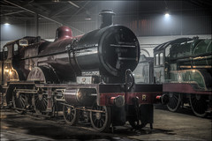 Barrow Hill Roundhouse 8 (Darwinsgift) Tags: barrow hill roundhouse chesterfield railway trains locomotives