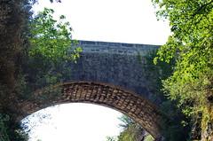 60 - Ardèche - Vogüé il y avait une ligne de chemin de fer (paspog) Tags: france ardèche vogüé août august 2018 pont bridge brücke pontdechemindefer railwaybridge eisenbahnbrücke