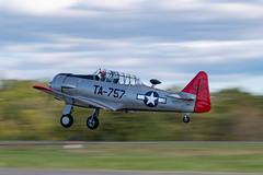 DSC_0711 (CEGPhotography) Tags: 2018 harvard snj t6 texan airshow aviation culpeper culpeperairfest flight trainer virginia