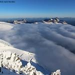 Wolken erklimmen Großglockner thumbnail