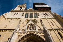 zagreb cathedral (Sam Scholes) Tags: religion zagrebcathedral zagreb travel romancatholic jesuschrist cathedral architecture christianity vacation europe catholic croatia cityofzagreb hr