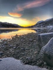 Ålhus himmel - Sunset lake (erlingsi) Tags: hegrenes ålhus himmel sunset jølstravatn noreg sunnfjord norway sonnenuntergang solnedgang frost rim reflection