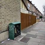 Thackeray Avenue N17 - Virgin Media Cabinet & Graffiti thumbnail