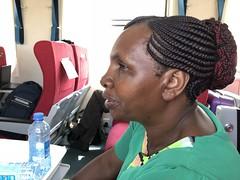 Water bottles (prondis_in_kenya) Tags: kenya nairobi colddryseason train kenyarailways railway sgr standardgaugerailway journey mombasa water bottle lucy
