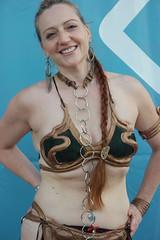 SDCC 2018 - 1592 (Photography by J Krolak) Tags: costume cosplay masquerade comicconvention sdcc2018 leia princessleia slaveleia leiasmetalbikini