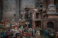 Carnegie Museum Neapolitan Presepio Nativity Scene (John Brighenti) Tags: sony alpha a7rii ilce7rm2 pennsylvania pa western christmas 2018 holidays winter sel1635gm statues figurines diorama brown angels people scenery scenes carnegie museum pittsburgh pgh 412
