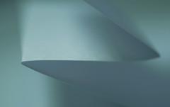 Redux 18 (orbed) Tags: crinkledwrinkledfoldedorcreased redux macromondays 2018 fold paper a4 blues shadow lowkey creased origami texture contrast minimal simple onesheet redux2018
