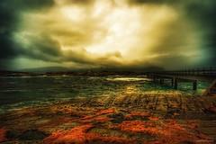 The Calm Before The Storm (Jorge Falck Photography) Tags: hazylandscape norwegianlandscapes countrysidelandscape atlanticoceanroad atlanterhavsveien fairytale jorgefalckphotography norsknatur norway ocean clouds stormyclouds storm lake landscapephotography landscape landscapes dramaticlandscape drama dramatic