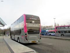 YN68EUB (jeff.day48) Tags: yn68eub 2933 scania n280ud adl enviro400 cbg city 2door ctplus bristolcommunitytransport firstwestofengland metrobus m1 cribbscausewaybusstation southgloucestershire