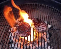 Backyard Grillin' in Georgia USA (John Rosemeyer) Tags: flickrfriday flames az