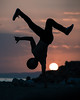 Sunset Freeze (andreas_kryp) Tags: break dance breakdance freeze handstand sunset beach goldenhour golden hour extreme chill portrait man male model sixpack epic awesome