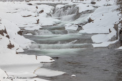 IMG_4151 (Arthur Putnam) Tags: river falls snow ice montana idaho cold yaak canon