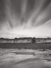 Living on the edge (Karl Horsman) Tags: birlinggap cliffs clouds coastal nationaltrust coast cottages canon canonuk sigma 1020mm leefilters longexposure bigstopper sevensisters eastbourne atmospheric atmosphere cloudtrails england uk windy bucolic tide southeast southcoast sky landscapephotography landscape landmark blackwhite