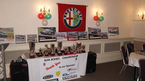 Alfa Romeo Championship - 2018 Awards