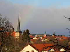 look at roofs (germancute) Tags: arnstadt roof dach stadt town outdoor