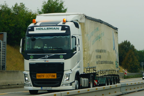 Volvo FH04 Globetrotter E6 500 XLOW - Holleman Special Transport & Project Cargo Srl Bucharest, Romania