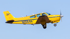 Beech F-33A Bonanza N1564A (ChrisK48) Tags: kdvt formerlylufthansaaviationtrainingusainc beechf33a formerlyatca n1564a phoenixaz aircraft beechcraft airplane bonanza dvt 1989 phoenixdeervalleyairport