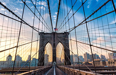 Brooklyn Bridge (jacobvphotography) Tags: brooklyn bridge sunsrise goldenlight morning walk architecture landscape travel newyork new york urban photography cityscape