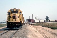 ATSF San Jac Branch Jul95 1 (jsmatlak) Tags: atsf santa fe san jac branch freight train railroad california