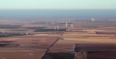 Wind Turbines nr Washburn, TX (zeesstof) Tags: geo:lat=3520204512 geo:lon=10165888510 geotagged zeesstof vacation flight aerial commercialflight unitedairlines amarillotohouston amatoiah aerialview windowseat texas