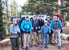 All set for another Rim-2-Rim Backpacking Trip (knutsonrick) Tags: rimtorim grandcanyon hiking backpacking grandcanyonnationalpark northrim trailhead northkaibabtrail trails