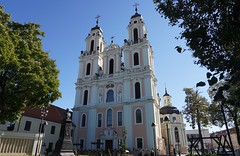 Vilnius: Church of St. Catherine (zug55) Tags: churchofstcatherine church kirche barock baroque vilnius lithuania litauen vilna wilna wilno baltic baltics lietuva lietuvosrespublika unesco unescoworldheritagesite worldheritagesite worldheritage welterbe weltkulturerbe stcatherineschurch